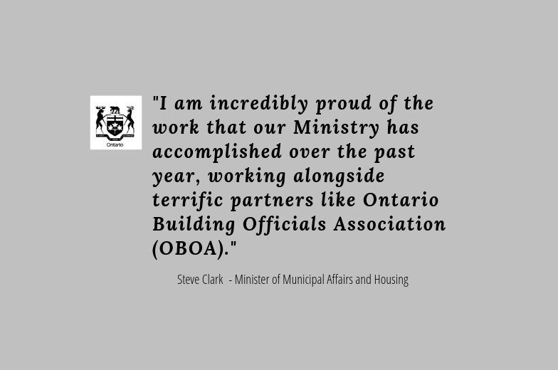 Congratulations OBOA Members! Read Steven Clark's letter to the OBOA.