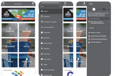 OBOA AMTS 2019 mobile app